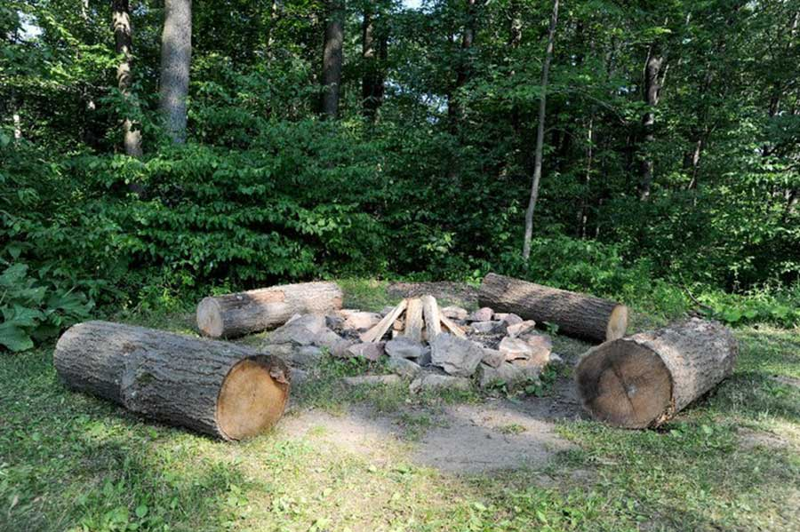 Black Moshannon Lodge Fire Ring
