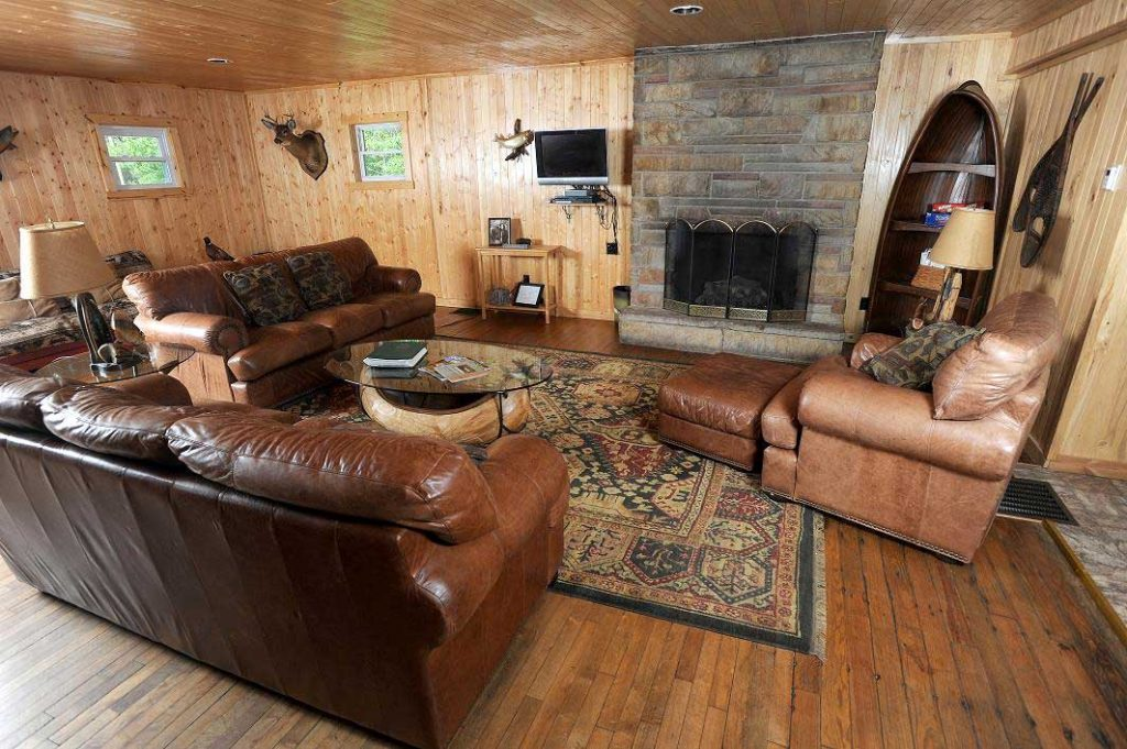 Black Moshannon Lodge Living Room