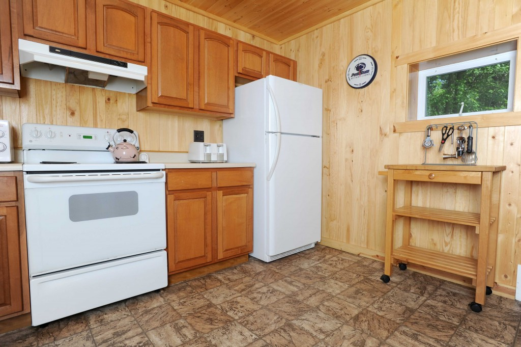 Black Moshannon Lodge Kitchen